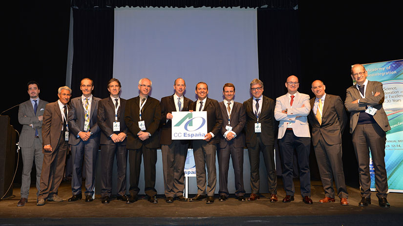 Conferencia de la Academia de Oseointegración en Madrid